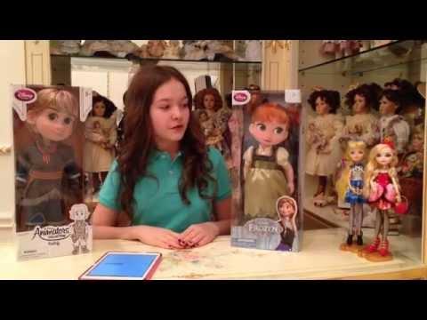 Ask Doll. Антикварные куклы.Фарфоровые куклы.Disney Animators Collection. Gulnas Gulnaz. смотреть в хорошем качестве