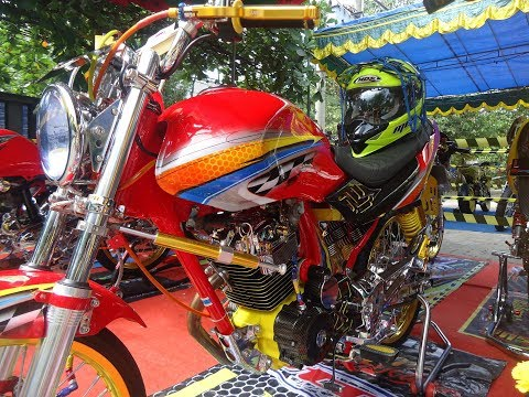 Modif Motor Megapro Primus Herex Style Contest Terbaru