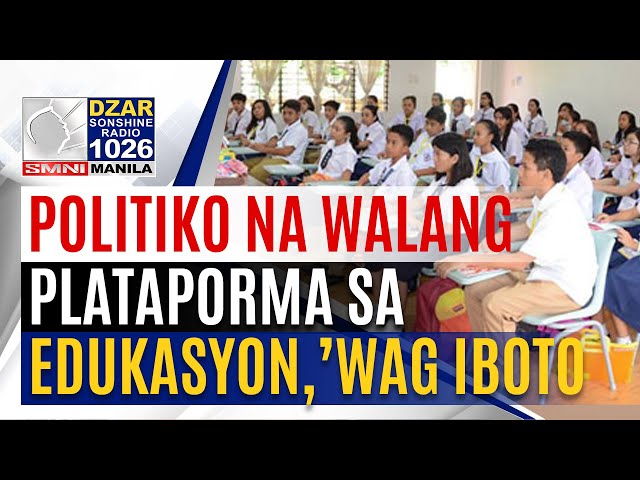 CHED sa mga kumakandidato sa 2022 elections: Gawing election issue ang edukasyon