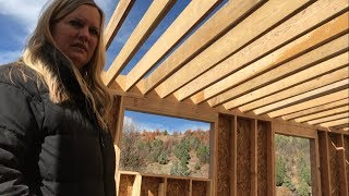 DIY Home Build: Second Story Floor Joists (Framing)