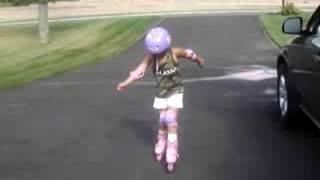 Roller Skating baby