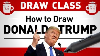 How to Draw Donald Trump!