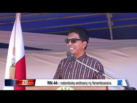 INFO K MADA PRM Ambatondrazaka DU 15 OCTOBRE 2019 BY KOLO TV