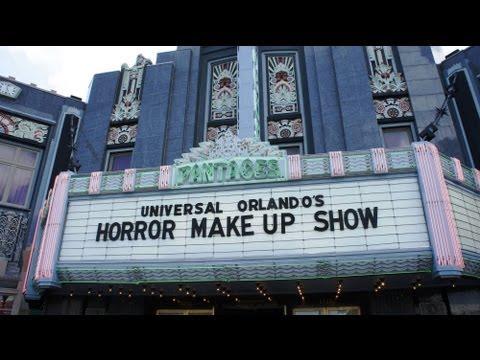 Universal Orlando's Horror Makeup Show