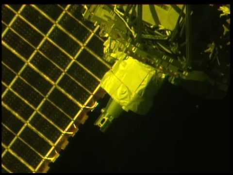 International Space Station: SAGE III Scan Head Range of Motion Test