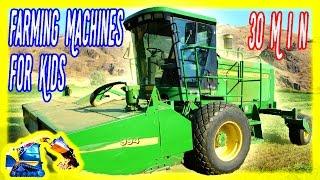 Farm Machines for Kids