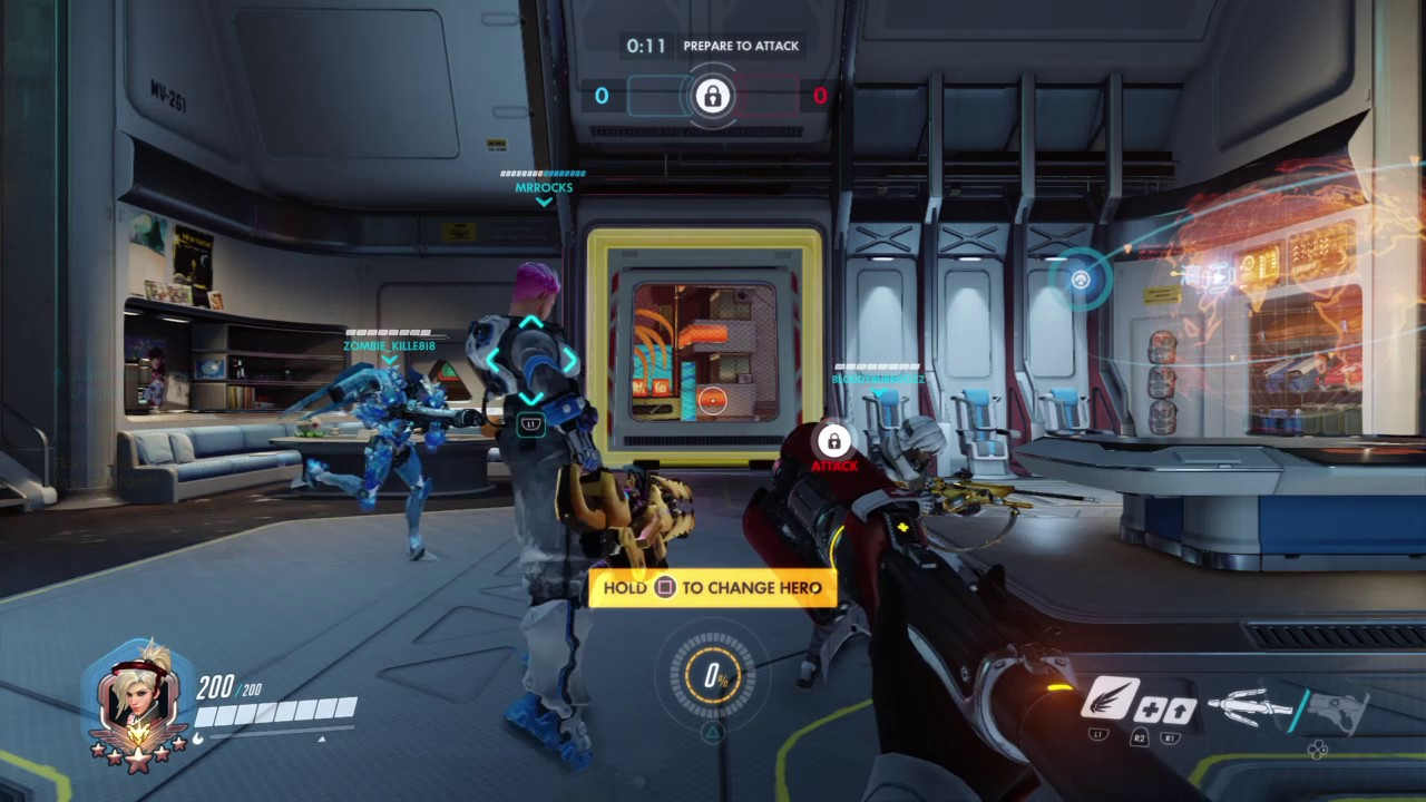 Overwatch How To Make Spawn Room