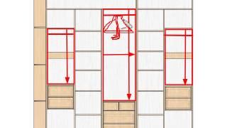 видео Узкий маленький шкаф в прихожую: наполнение, фото
