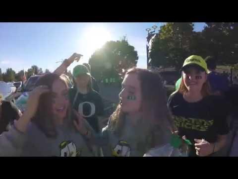 Ducks Vs Huskies  - Portland To Eugene Road Trip 2016