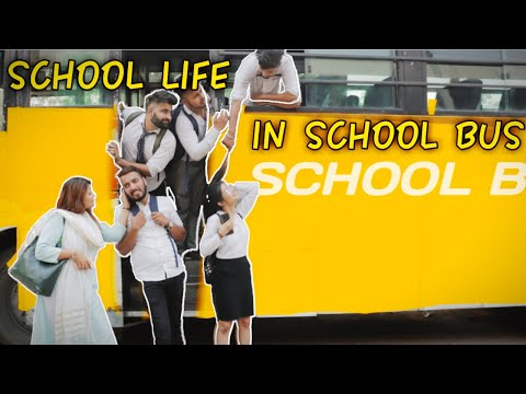 School Life In School Bus | RISE OF BHAI's