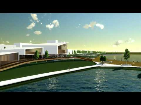 Conference Center sketch on Danube Waterfront, Calarasi City