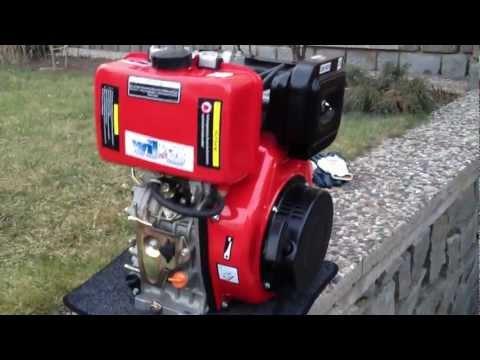 """Diesel motor """"Yanmar"""" 10HP.MOV"""