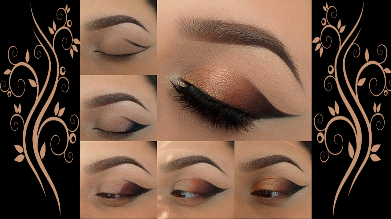 smokey eye makeup tutorial step by step | gorgeous ways to apply eye makeup for yourself |
