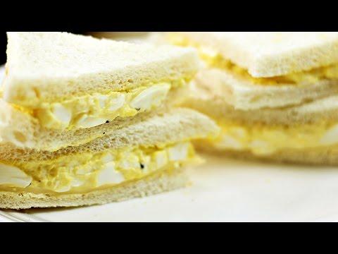 Healthier Egg Mayo Sandwich - Recipe By ZaTaYaYummy