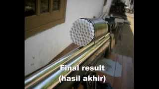 senapan sharp goppul air rifle shooting handmade scope honey comb flv