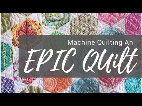 Help! How Do I Quilt It? Machine Quilting the Epic Tula Pink Quilt