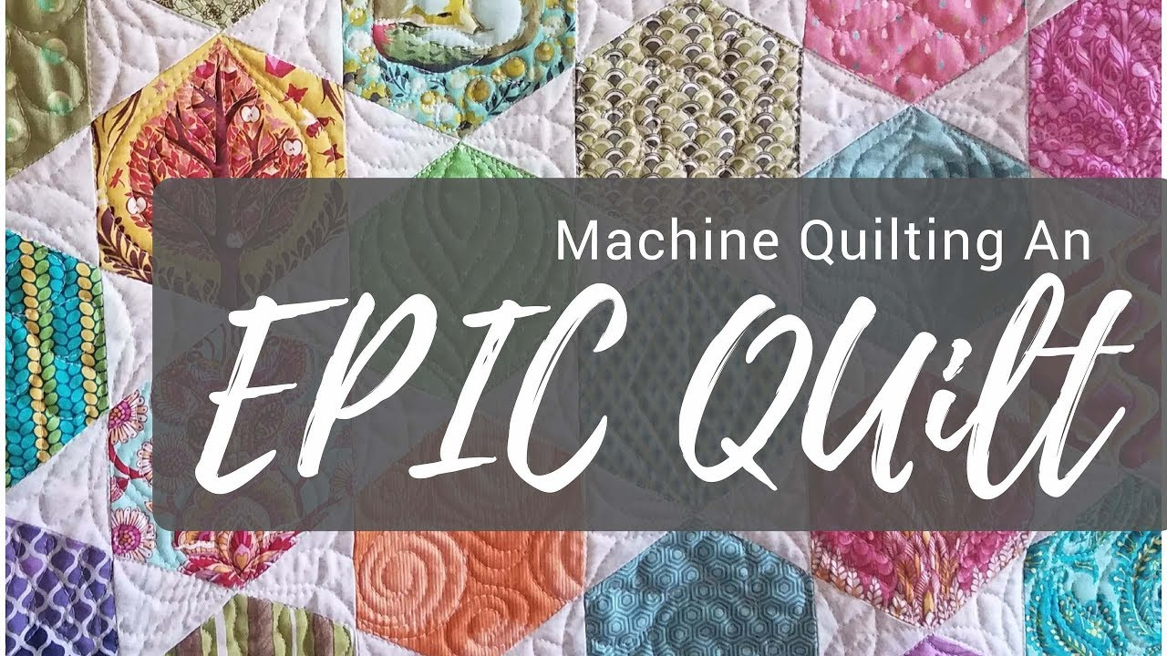 Help How Do I Quilt It Machine Quilting The Epic Tula Pink Quilt