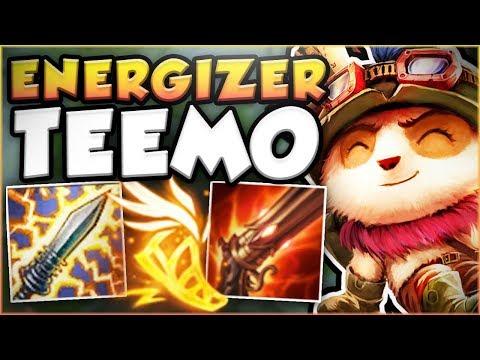 Download Youtube: HOW BROKEN IS OVERHEAL ENERGIZER TEEMO?? ENERGIZER TEEMO SEASON 8 TOP GAMEPLAY! - League of Legends