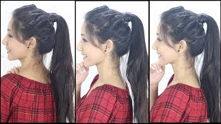Latest Ponytail Hairstyle For School, College, Work   Hairstyles of 2019