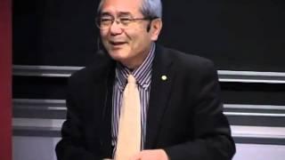 Nobel Laureate in chemistry Ei-ichi Negishi – Nobel Lectures in Uppsala 2010