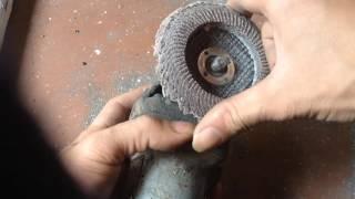 Hướng dẫn cách sử dụng máy mài cầm tay mini an toàn | Cắt sắt Mài dao mài sắt mài đá ...