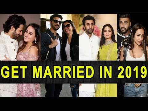 Good News || 7 Bollywood Couples To Get Married In 2019 || Sushmita Sen, Alia Bhatt