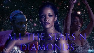 ALL THE STARS x DIAMONDS (Mashup) - Rihanna, Kendrick Lamar, SZA  | Ash Mashups