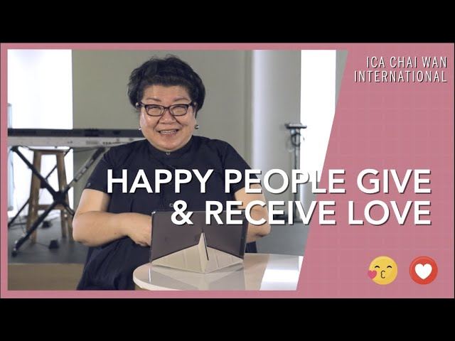 Happy People Give & Receive Love  |  Happy People (Week 2)