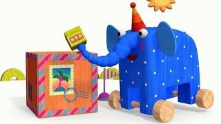 Теремок песенки МУЛЬТ - Деревяшки - Посылка - Детские песенки из мультфильмов