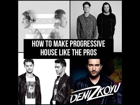 How to make the BEST PROGRESSIVE HOUSE | Stadiumx, Dimitri Vangelis & Wyman, Third Party, etc