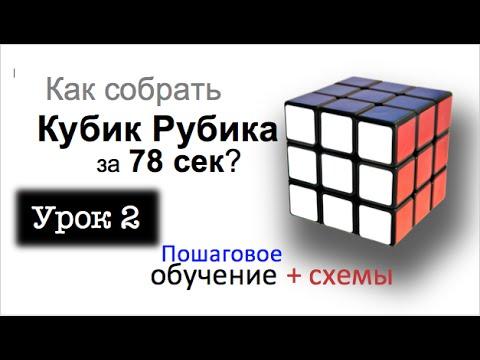 Как собрать кубик Рубика за 80