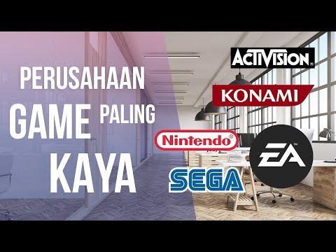 5 Perusahaan Game Paling Kaya di Dunia