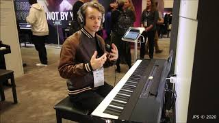 Yamaha's Great Mid Priced Keyboard: P515 NAMM 2020
