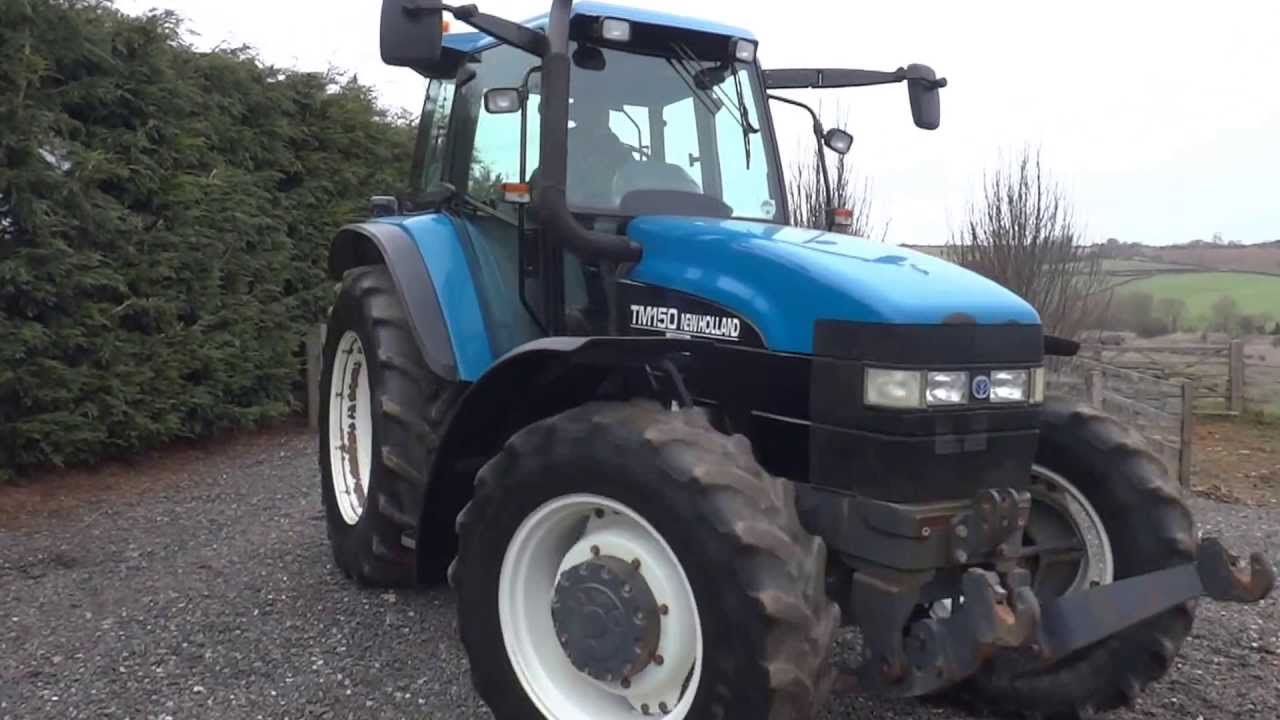 New Holland Tractor Model TM150