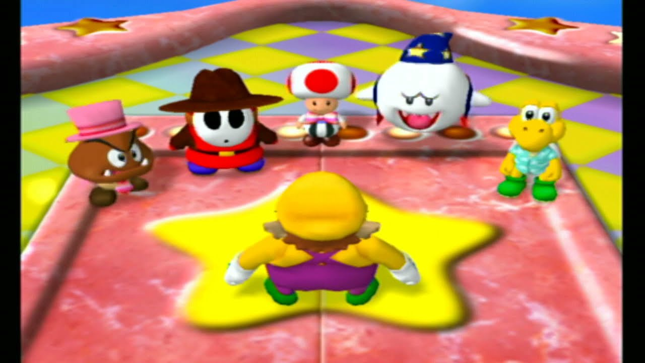 Mario Party 4 Story Mode Hard - Toad's Midway Madness Part 2