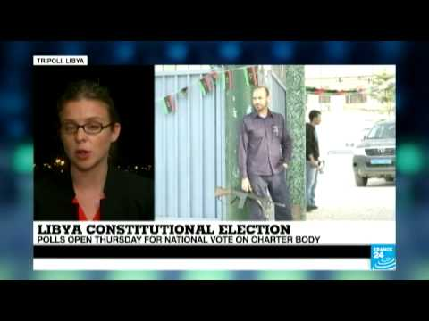 Libya: National vote on charter body about to start