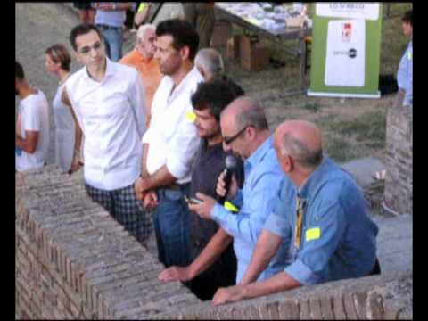 Caterraduno 2012 - Apertura della cena antispreco per 1.000 persone