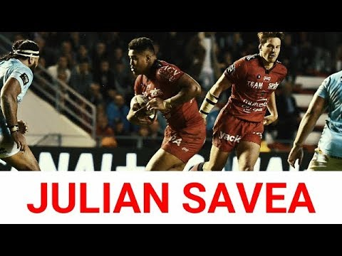JULIAN SAVEA / THE FIRST TRY WITH TOULON / Top 14 Toulon Vs Perpignan