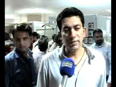 Liaquat National Hospital fitness center .Abdul Ghaffar ,Samaa tv