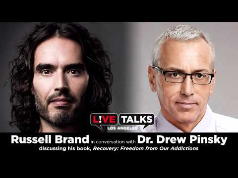 Russell Brand​ in conversation with Dr. Drew​ Pinsky at Live Talks Los Angeles