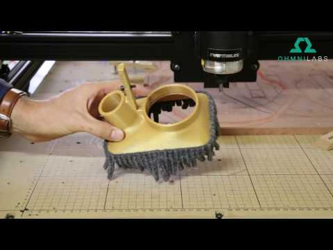 How to make your own CNC router dust shoe