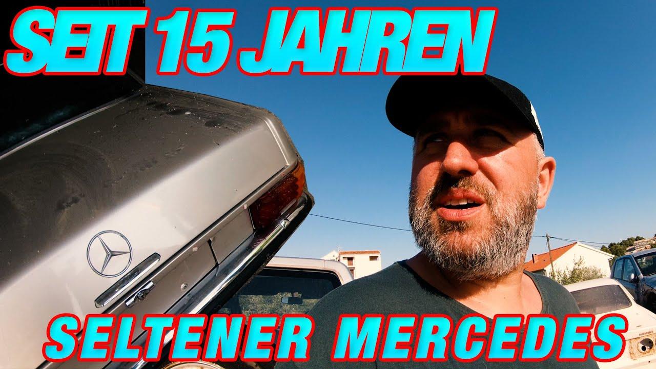 Seltener Mercedes steht seit 15 Jahren in einer Garage ! Garagenfund in Kroatien
