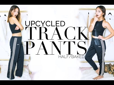 Upcycled Fashion Ep. 1 | DIY Tapered Track Pants