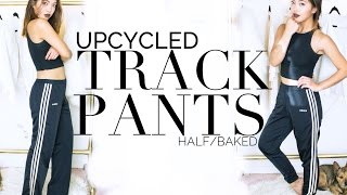 Upcycled Fashion Ep. 1 | DIY Tapered Track Pants | DIY | Nava Rose