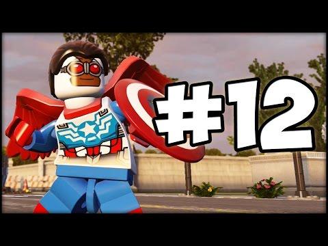 LEGO MARVEL AVENGERS - LBA - Episode 12 : Falcon Captain America!