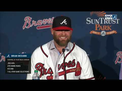 Brian McCann returns to Atlanta Braves on 1-year deal