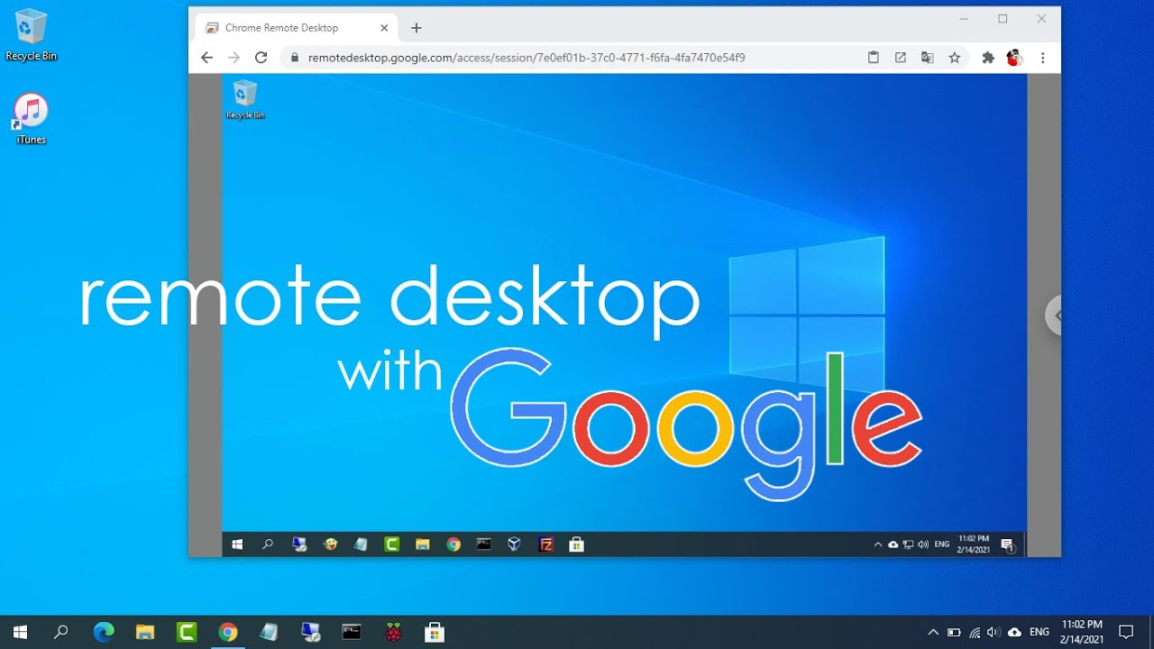 Access your PC from anywhere with Google account