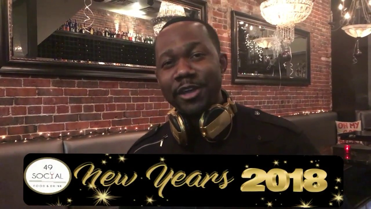 New Years Eve at 49 Social Downtown Boston - YouTube