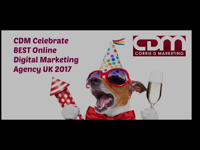 Corrie D Marketing Multi Award Winning Online Digital Marketing Agency  PROMO  Video NOV 17