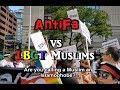 Antifa vs LBGT Muslims